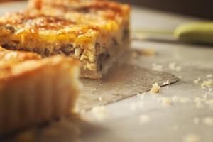 gluten-free fennel tart